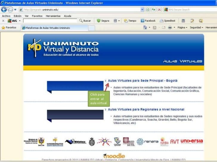 Click paraentrar alaula virtual