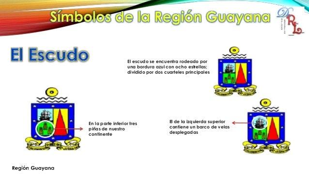 Simbolos Naturales De La Region Guayana | region guayana