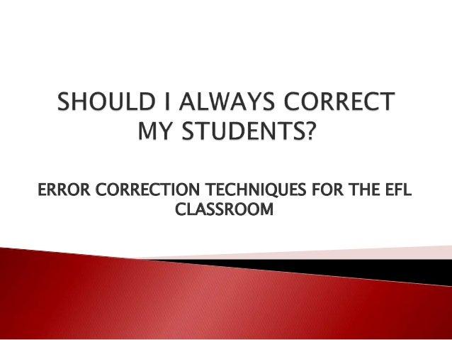 efl classroom
