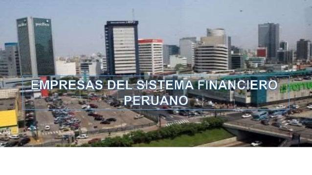 ¿Qué relación tenemos con instituciones  del sistema financiero peruano?
