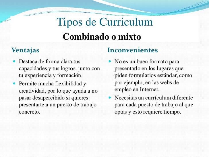 Como elaborar un Curriculum                                  Reglas Básicas   Sé breve, conciso y directo. Tu currículum ...