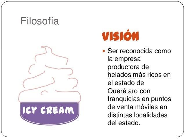 Filosofía            Visión             Ser reconocida como             la empresa             productora de             ...