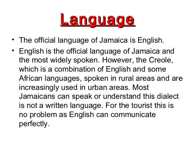 Presentación Laura Ampliacion De Ingles - What language do they speak in jamaica