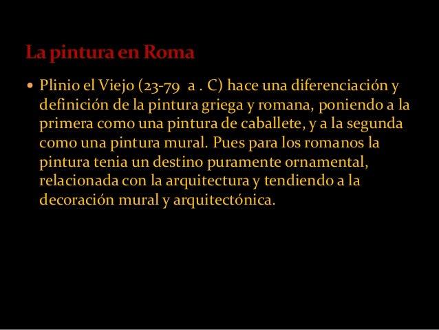 El arte en la antigua roma for Definicion de pintura mural