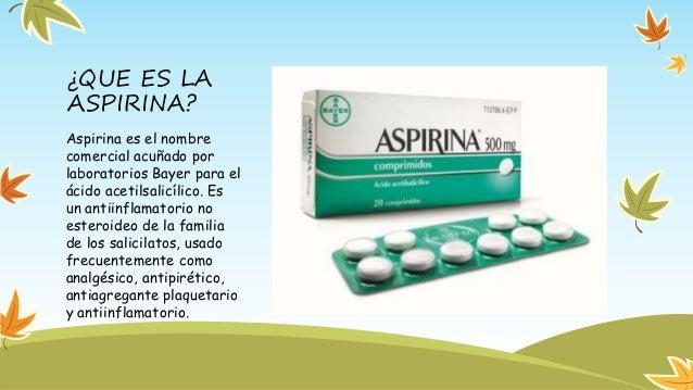 Que cura la aspirina
