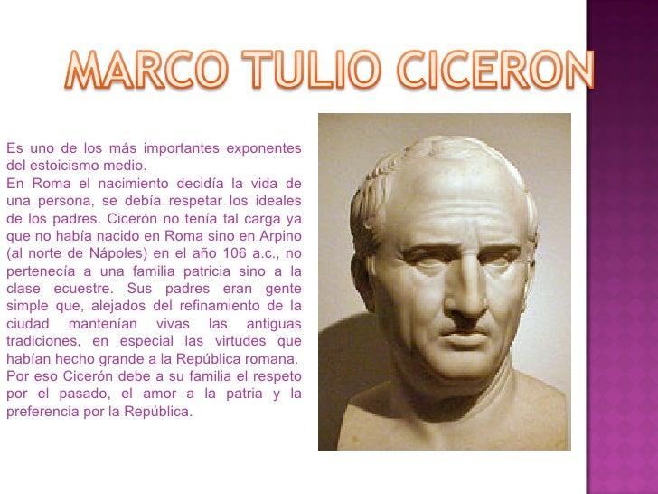Es uno de los más importantes exponentes del estoicismo medio. En Roma el nacimiento decidía la vida de una persona, se de...