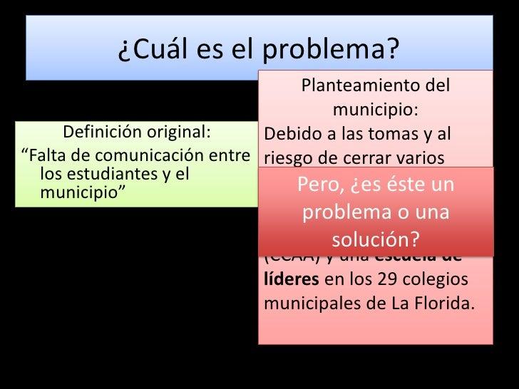 Trabajo A + S La Florida Presentación 1 Slide 2