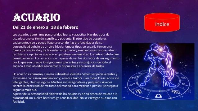 Signos zodiaco for Horoscopo para acuario