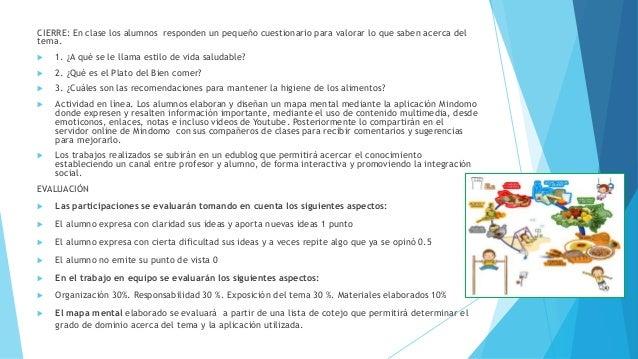 CIERRE: En clase los alumnos responden un pequeño cuestionario para valorar lo que saben acerca del tema.  1. ¿A qué se l...