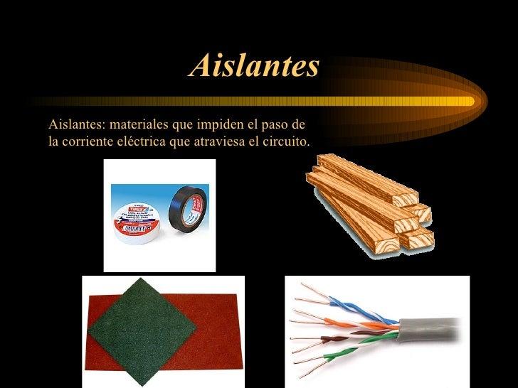 Presentaci n electricidad - Materiales aislantes del calor ...
