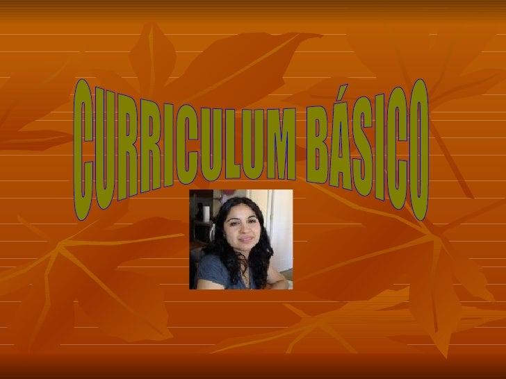 CURRICULUM BÁSICO