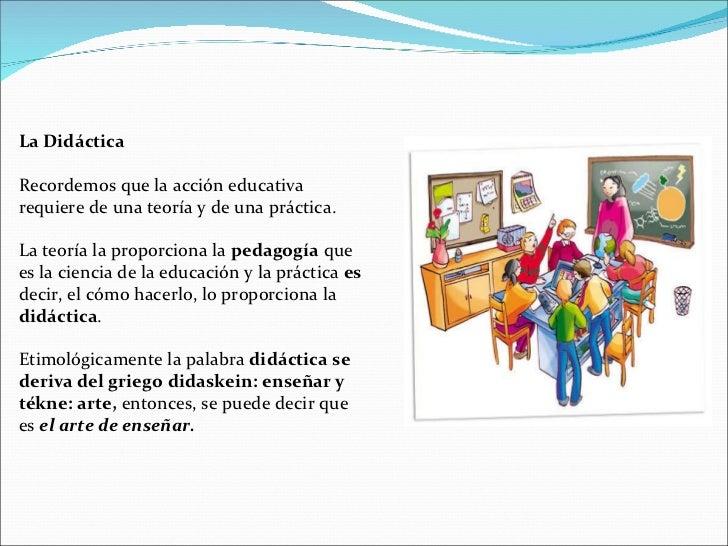 Conceptos de Didáctica General Slide 2