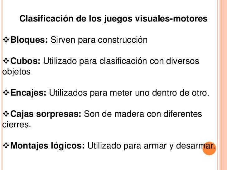 Juegos Visuales Motores