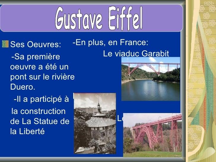 Le montage de la tour commence le 1erjuillet 1887 et finit le 31 août 1889pour célébrer le premier centenaire dela Révolut...