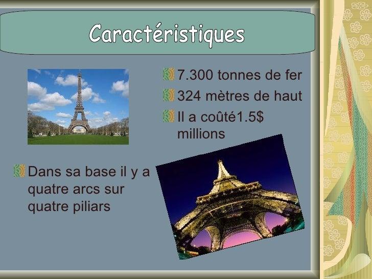 Premièr niveau.Distance 57 mets sur le solDes dimensions:70,69 metsSurface: 4700 metrès carrésConstrution: 1887