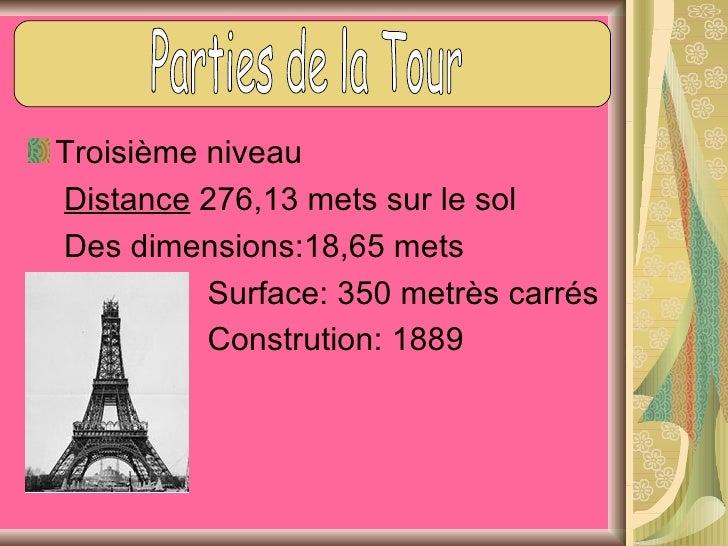 Troisième niveauIl y a une représentation en cire deGustav Eiffel et Thomas AlvaEdinson.