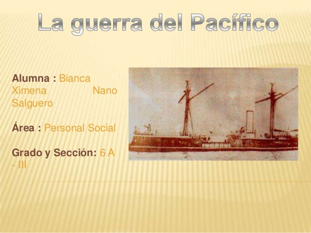 Alumna : BiancaXimena          NanoSalgueroÁrea : Personal SocialGrado y Sección: 6 A- III