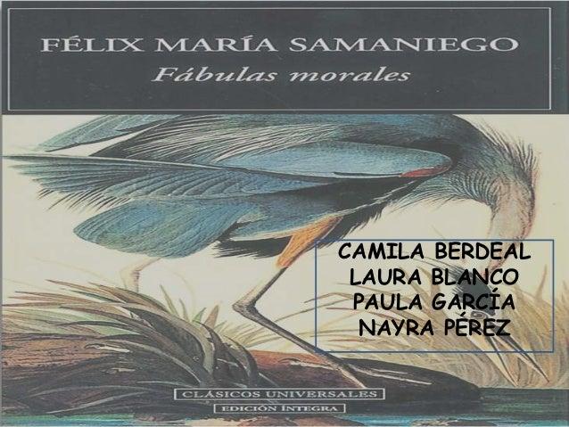 CAMILA BERDEALLAURA BLANCOPAULA GARCÍANAYRA PÉREZ