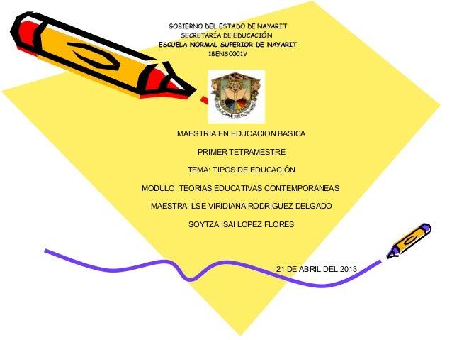 GOBIERNO DEL ESTADO DE NAYARITGOBIERNO DEL ESTADO DE NAYARITSECRETARÍA DE EDUCACIÓNSECRETARÍA DE EDUCACIÓNESCUELA NORMAL S...