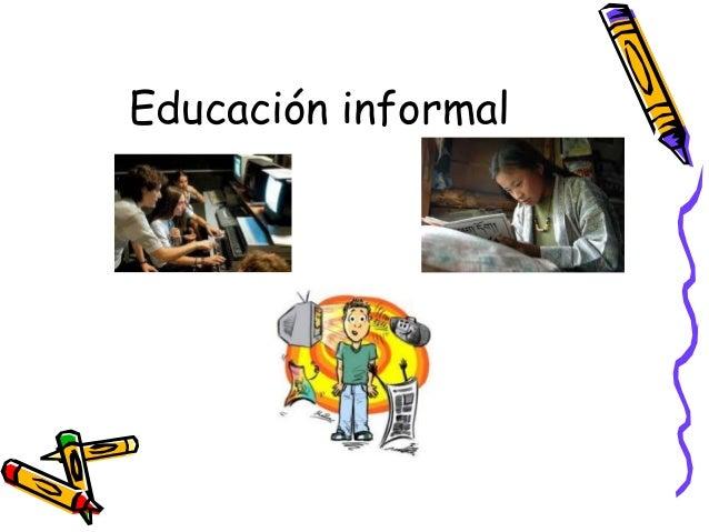 Educación informal