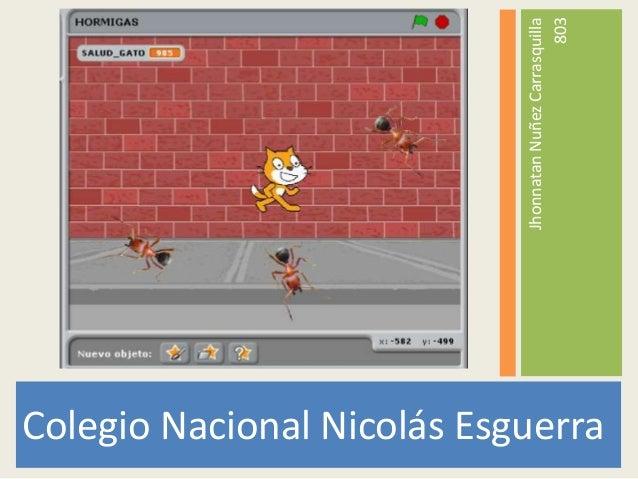 Colegio Nacional Nicolás EsguerraJhonnatanNuñezCarrasquilla803