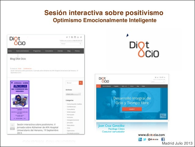 Presentación Sesión Interactiva Sobre Positivismo Optimismo