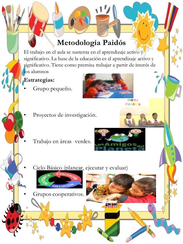 Metodolog as aplicables a ni os de preescolar for Actividades para el jardin de infantes