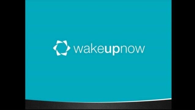 Presentación de WakeUpNow en Español