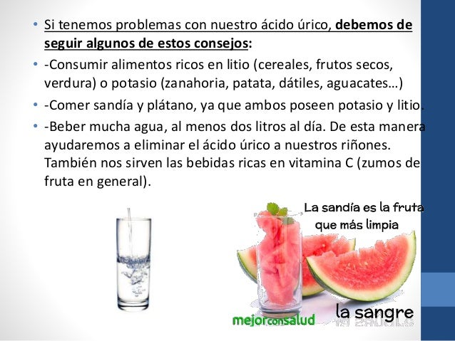 Acido rico - Alimentos ricos en purinas acido urico ...