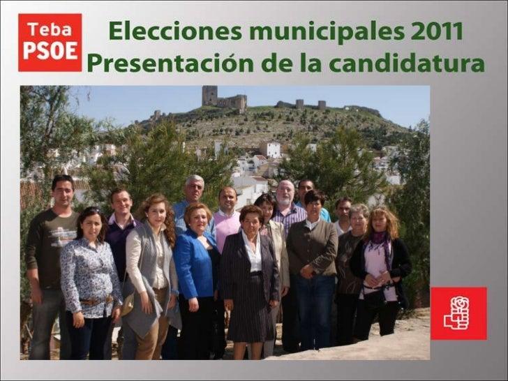 Candidatura Elecciones 2011