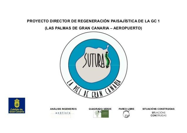 ANÁLISIS INGENIEROS S.L.P. PROYECTO DIRECTOR DE REGENERACIÓN PAISAJÍSTICA DE LA GC 1 (LAS PALMAS DE GRAN CANARIA – AEROPUE...