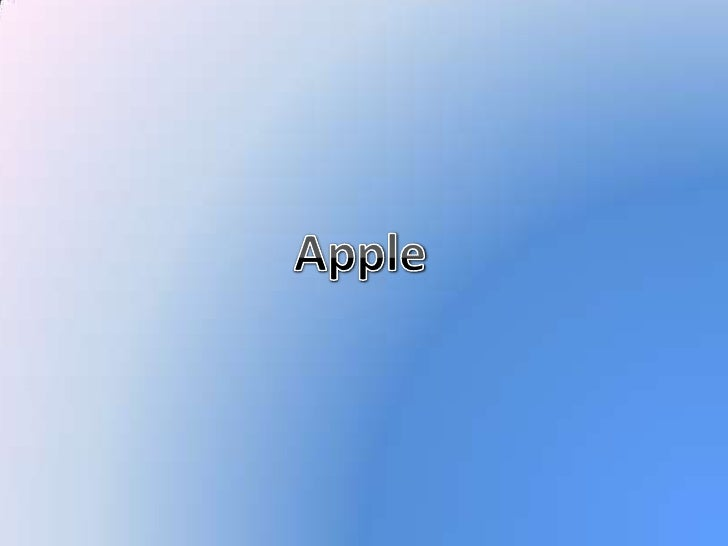 Apple<br />