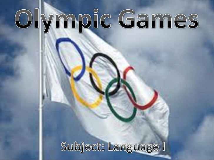  The first Olympic Games were born in 776B.C in Greece. They were organized every four summers andlasted five days. Wom...
