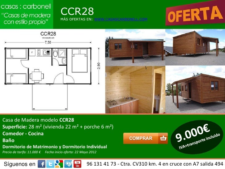 Casas de madera carbonell en sevilla almeria ja n - Casas de madera en granada ...