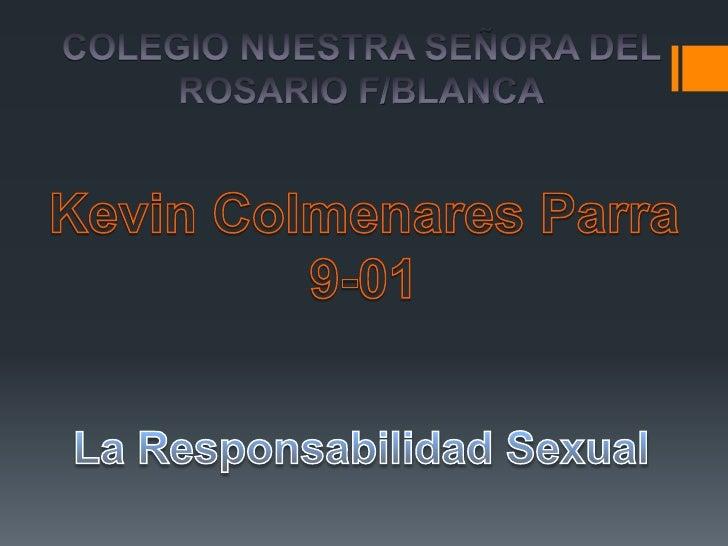 La sexualidad es una dimensiónintegral de la existencia humana, fuerzacreadora y posibilidad decomunicación, su relación c...