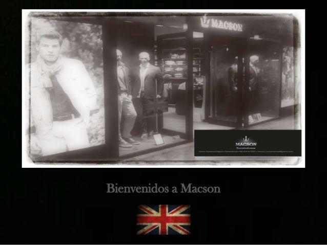 Bienvenidos a Macson