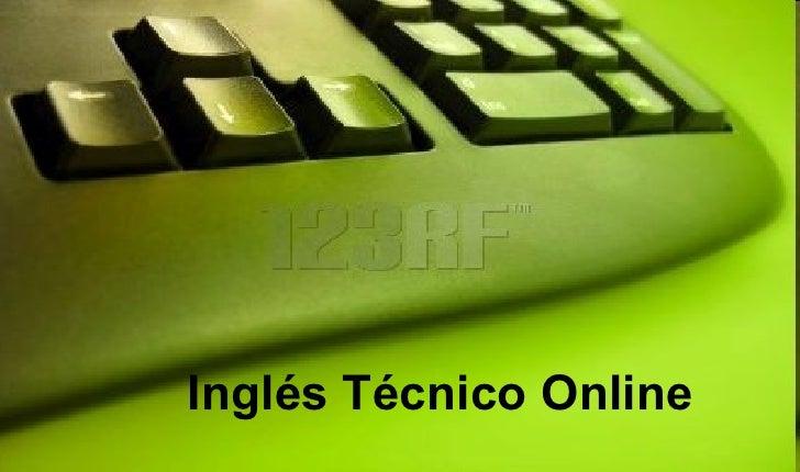 Inglés Técnico Online