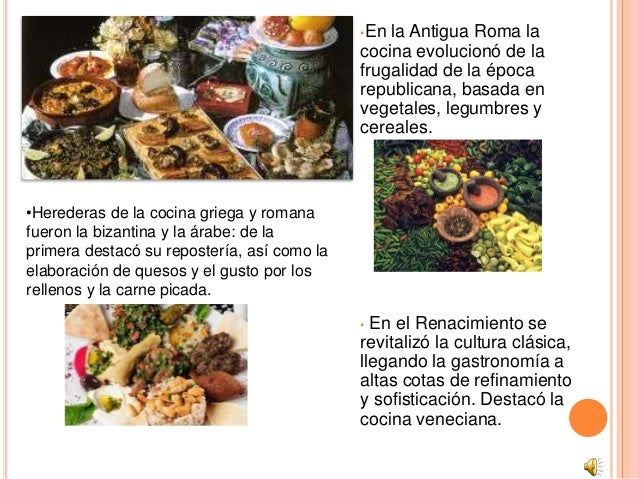 Presentacion Power Point Gastronomia