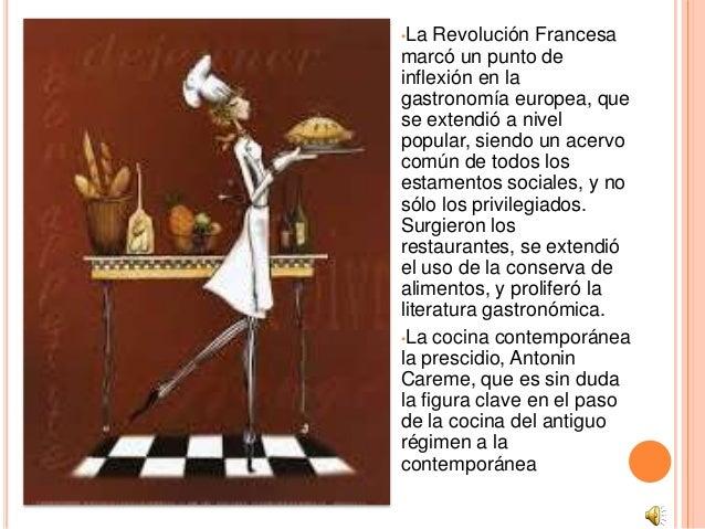 Presentacion power point gastronomia for Que es la cocina francesa