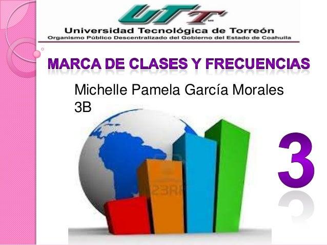 Michelle Pamela García Morales3B