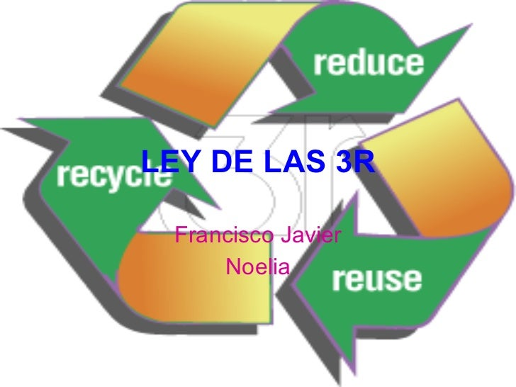Presentacin 3 r reducir reciclar reutilizar