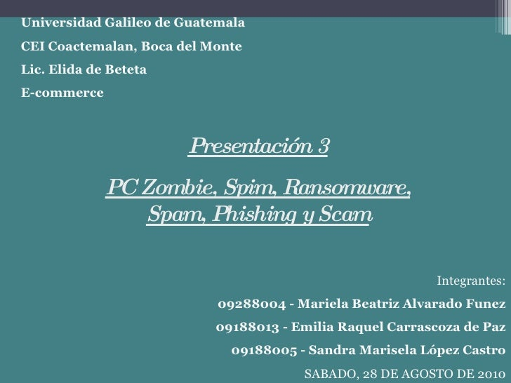 Universidad Galileo de Guatemala CEI Coactemalan, Boca del Monte Lic. Elida de Beteta E-commerce Integrantes: 09288004 - M...