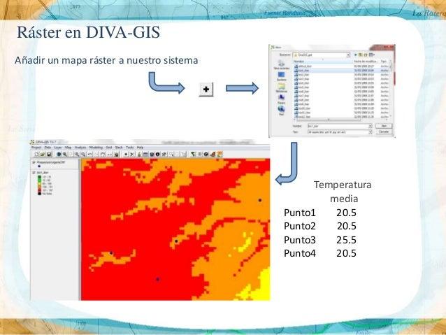 Presentaci n4 nivelaci n diva gis for Diva gis