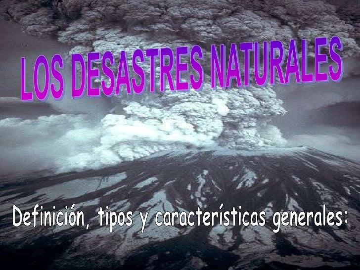 El termino desastre hace referencia a las enormes perdidas humanas y materiales ocasionadas por eventos o fenómenos como l...