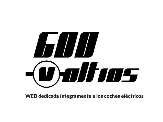 WEB dedicada �ntegramente a los coches el�ctricos