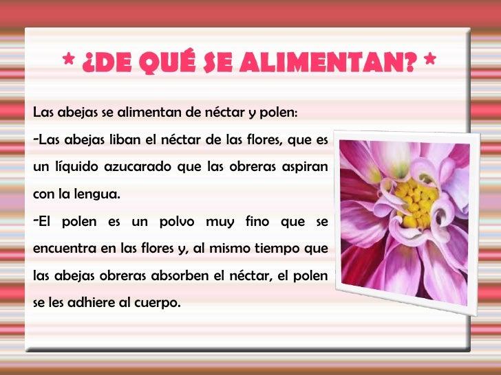 Cada vez que una abeja se posa en una flor y liba el néctar,se deposita polen en su cuerpo velludo.Al desplazarse de flor ...
