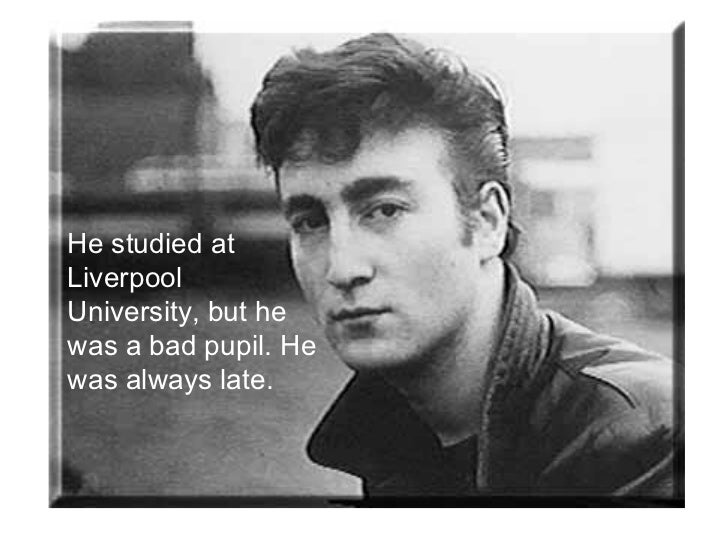 John Lennon's life Slide 3