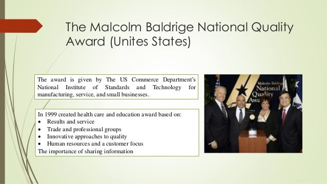 malcolm baldrige national quality award case study Elevations is extremely proud to be named a recipient of the 2014 malcolm baldrige national quality award for quality and organizational performance  a case study .