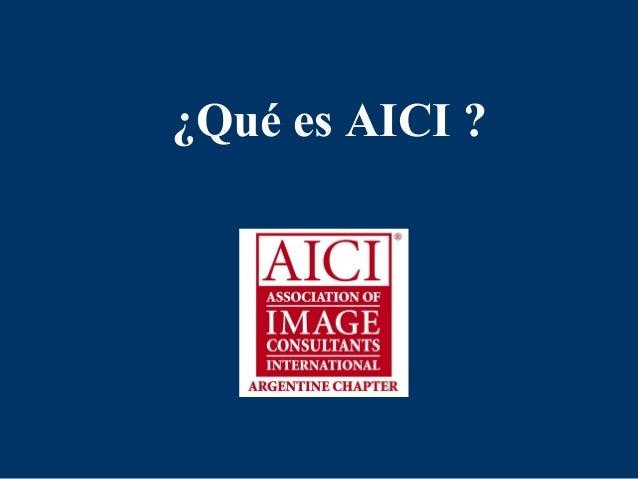 ¿Qué es AICI ?