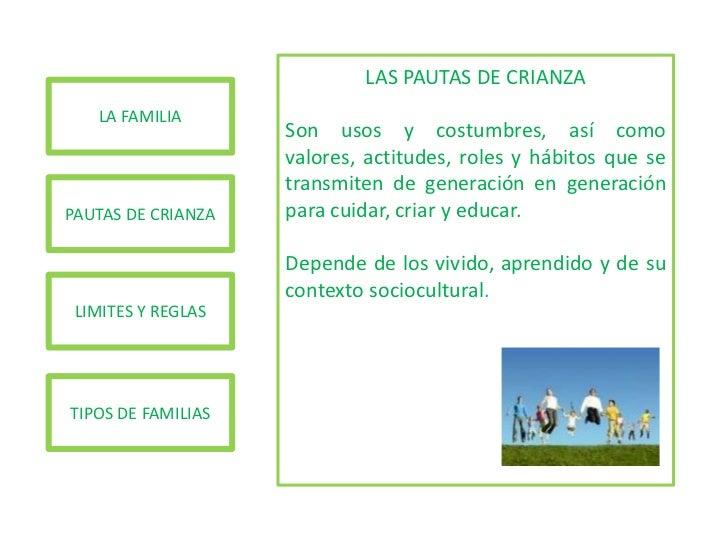 PAUTAS DE CRIANZA Slide 2